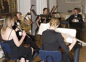 The Aliss String Quartet.