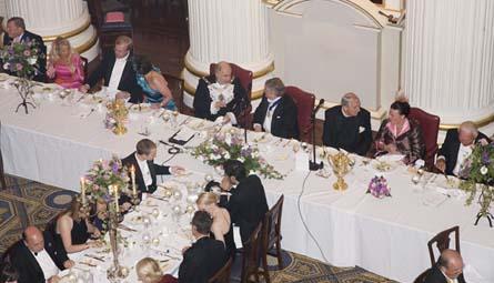 banquet 2009 head table