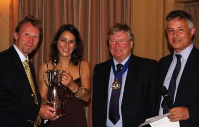 Alexandra Kurkjian and Rodney Pope with Master Nick Heal and Jeremy Brassington