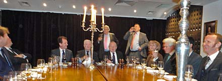 Livery Soc dinner 2014 diners DSC01636
