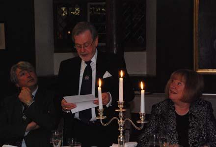 Lodge white table 2014 Worshipful Master