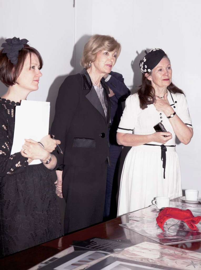 Rachel Trevor-Morgan, the Lord Mayor and Carole Denford