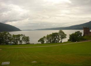 Almost out of sight - leaving Drumnadrochit