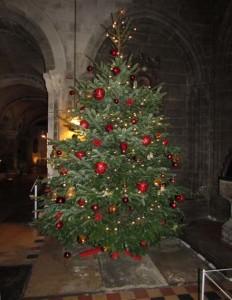 Carol service 2015 Christmas tree 2015-12-09 19.19.48