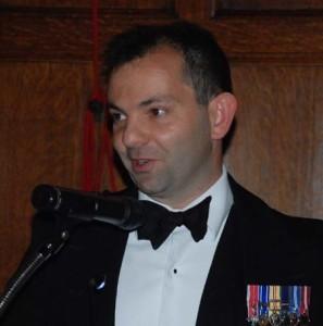 Commander Peter Laughton MBE
