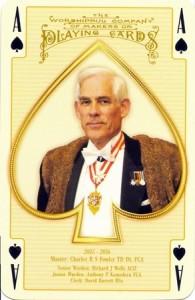 2015 Master: Charles R S Fowler TD DL FCA