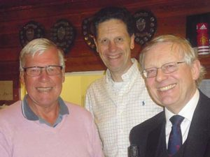 Geoffrey Farr, Master Peter Simeons and Richard Brumby