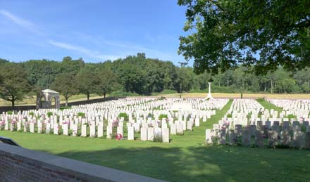 The Cemetery at Flat Iron Copse – Mametz Wood