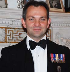 Commander Peter Laughton MBE RN